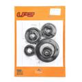 9pcs Engine Oil Seal Kit Set for Honda CR250R cr250r cr-250r 2002-2004