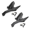 Rear Tire Hugger Mudguard Fender Splash Guard for BMW F750GS F850GS 2018-2020 Black