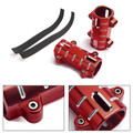 Guard Shock Front Fork Cover Pipe Protector for Honda Rebel CMX 300 500 17-19 RED