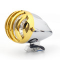 """5 1/2"""" Bullet Headlight Lamp For Cafe Racer Bobber Chopper Custom ChromeG"""