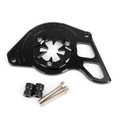 Front Sprocket Chain Guard Cover Left Side Engine for Honda MSX125 13-15 MSX125SF 16-19 Black