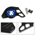 Front Sprocket Chain Guard Cover Left Side Engine for Honda MSX125 13-15 MSX125SF 16-19 Blue