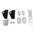 Rear Fork Adjuster Frame Expandable for Honda MSX125 13-15 MSX125SF 16-19 Silver