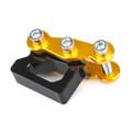 Rear Shock Absorber Adjuster Heightening Regulator Kit for Honda MSX125 13-15 MSX125SF 16-19 Gold