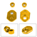 Aluminum Turn Signals Indicator Adapter Spacers for Honda MSX125 13-15 MSX125SF 16-19 Gold