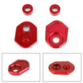 Aluminum Turn Signals Indicator Adapter Spacers for Honda MSX125 13-15 MSX125SF 16-19 Red