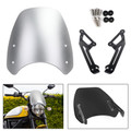 Windshield Windscreen Wind Defector protection For Ducati Scrambler 2015-2018 Silver