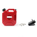3L Portable Jerry Can Gas Plastic Fuel Tank Petrol Fit For Motorcycle/Car Gokart