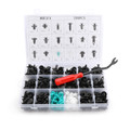 299PCS Fender Door Hood Bumper Trim Clips Body Retainer Assortment&Removal Tool Fit For Universal Car