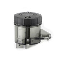 1x Motorcycle Front Brake Clutch Master Cylinder Fluid Reservoir Oil Tank Cup BK Fit For Universal Motorcycle Black