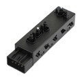 Power Seat Switch Left Driver Side 25974714 Fit For Buick Cascada Envision 16-18 Verano 16-17 LaCrosse 10-13 17-18 Regal 11-18 Black