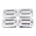 4 Door Handle Cover Fit For Ford F150 F150 04-08 Chrome