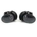 Pair Fog Driving Light Lamp Left+Right Fit For AUDI TT 06-14 Black