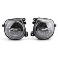 Pair LH+RH Front LED Fog Lights Lamps Foglights Fit For BMW 5 Series F07 F10 F11 LCI 14-16 Black