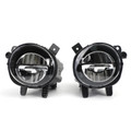 Pair LED Fog Lamp Light Fit For BMW 3 Series F30 F35 12-18 Black