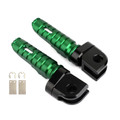Front Footpegs Fit For KAWASAKI Z650 Z900 17-20 ER-6N 6F 09-16 ZX-10R 08-10 NINJA 650 250/R 1000/Z1000SX 12-20 Green