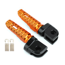 Front Footpegs Fit For KAWASAKI Z650 Z900 17-20 ER-6N 6F 09-16 ZX-10R 08-10 NINJA 650 250/R 1000/Z1000SX 12-20 Orange