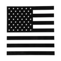 Rear Middle Window American Flag Decal Fits For Ford F150 09-14 Black