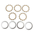 Clutch Plate Kit Fit For Kawasaki KLX125 A1/A2/A3/A6F KLX125 L (B1/B2/B3/B6F) 03-06