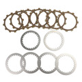 Clutch Plate Kit Fit For Yamaha YFP350U Terra Pro 88 YFM350FX Wolverine 350 4WD 95-05 YFM40FB Big Bear 400 4WD IRS 07
