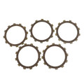 Clutch Plate Kit Fit For Yamaha XS250 4E0 IT250G IT250 80 XS250 SE/C 80-81  YZ250F YZ250 79