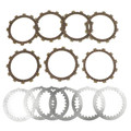 Clutch Plate Kit Fit For Yamaha XJ400D XJ400 1981