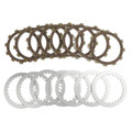 Clutch Plate Kit Fit For Yamaha XJR400 4HM 93-07 XJ600N Diversion 94-02 XZ550RK 83 XJ650S Special XJ650G XJ650 80 XJ650K 83