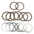 Clutch Plate Kit Fit For Yamaha XJ550RH  XJ550H XJ550 81 XJ550RJ XJ550J 82 XJ550RK 83