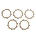 Clutch Plate Kit Fit For Yamaha SR185H 81 TW200E TW200 TRAILWAY 87-18 YZ100 E/F/G/H/K 78-83 TY175C YZ125X YZ125C 76