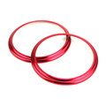 Car Aluminum Air Outlet Trim Cover Sticker Fits For Toyota 86 13-18 Red