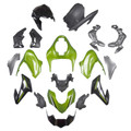 Fairing Kit Fits for Kawasaki Z900 (2017-2019) Silver Green