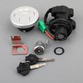 Fuel Gas Tank Cap Cover With Keys Fit For Suzuki GIXXER155 GSX150F L6 GSX150 DZA L6 16-18