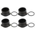 Intake Manifold Boot Joint Carburetor Carb Flange Socket Fit for Kawasaki ZRX400 ZR400 98-08 ZR400 ZRX-II 95-01 03-08