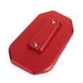 Kickstand Side Stand Extension Pad Fit For Honda CB500X 19-20 Red