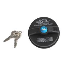 05278655AB Screw Thread Locking Fuel Cap W/2 Key Fits For Caravan 01-07 Mitsubishi Raider 06-09 Black