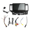 10inches Car Android 8.1 Radio GPS Navi Stereo Fits For Mitsubishi Lancer EX 08-15 Black