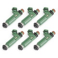 6PCS Fuel Injectors fit for Toyota Land Cruiser 93-07
