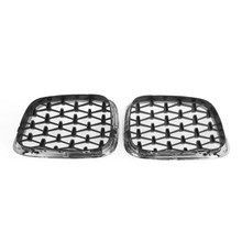 Meteor Chrome Front Kidney Grill Mesh Grille Fit For BMW E39 5 Series 95-03