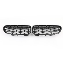 Meteor Black Front Kidney Grille Fit For BMW E92 E93 LCI 2 Doors 11-14