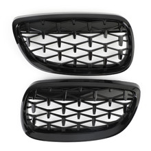 Front Kidney Grille Grill Fit For BMW E92 06-10 Coupe E93 07-10 3-Series M3 08-13