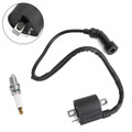 Ignition Coil + Spark Plug Fit for Polaris Trail Boss 325 00-02 330 03-11
