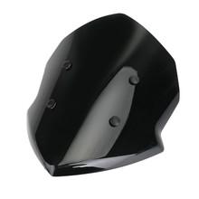 Windshield Windscreen For Kawasaki Z125 19-20 Black