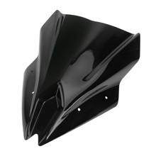 Windshield Windscreen For Kawasaki 650 19-20 Black