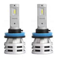 Philips H8/H11/H16 Led Ultinon Essential Car Headlight Bulbs 6500K 24W 2Pcs