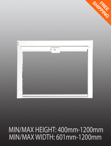 Pull down window fly screen - Medium