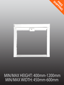 Pull down window fly screen - Small