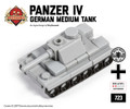 Micro Brick Battle - Panzer IV