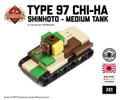 Micro Brick Battle - Type 97 ShinHoTo Chi-Ha