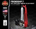 Friendship 7 (with Mercury-Atlas 6 rocket)