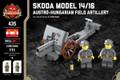 Skoda Model 14/16 - Austro-Hungarian Field Artillery